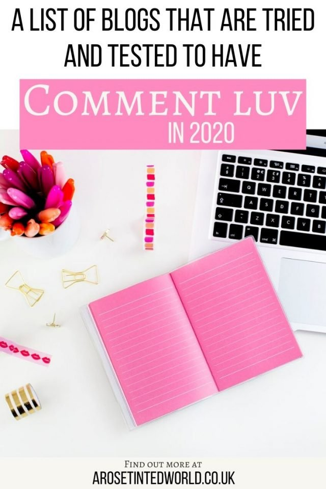 List of Comment Luv Blogs that work. Get a dofollow backlink or build links back to a post on your site.- Comment Luv is a plugin used on some blogs. By commenting on these, you may get a link back to your blog. This is a current, tried and tested link of these backlink blogs. Boost ranking with these SEO tips.I personally have tried all these. #commentluv #commentluvblogs #backlinks #blog #blogs #bloggingtips #bloggingforbeginners #blogtips #blogging #seotips #seotools #commentetiquette