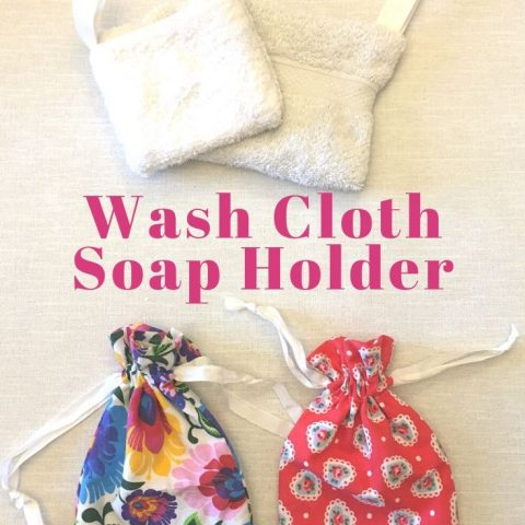 How To Make A Wash Cloth Soap Holder – 3 Different Ways