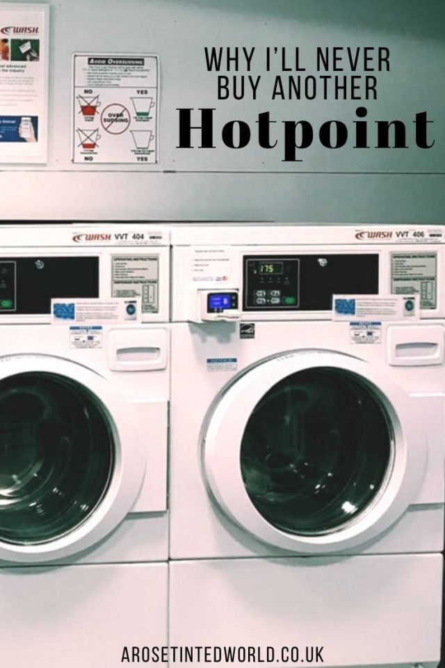 Why I'll Never Buy Another Hotpoint - the Whirlpool corporation have recalled over half a milli0n washing machines recently, but this is not their first recall. See why I am not a fan of Hotpoint appliances, and why I will never buy from them again. #hotpoint #whirlpool #washingmachine #kitchenappliances #fridgefreezers #fridges #freezers #whitegoods