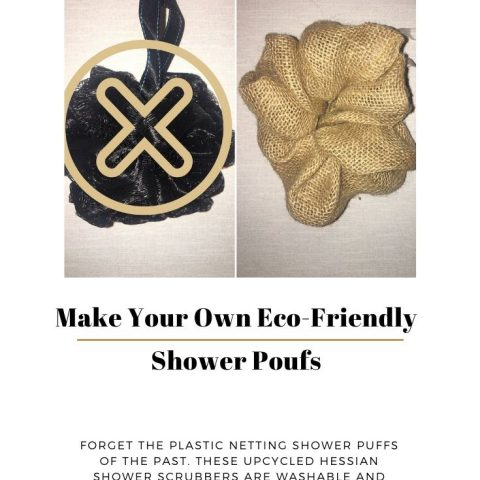 Zero Waste Hessian Shower Pouf – How To Make This Upcycled Bath Sponge Puff