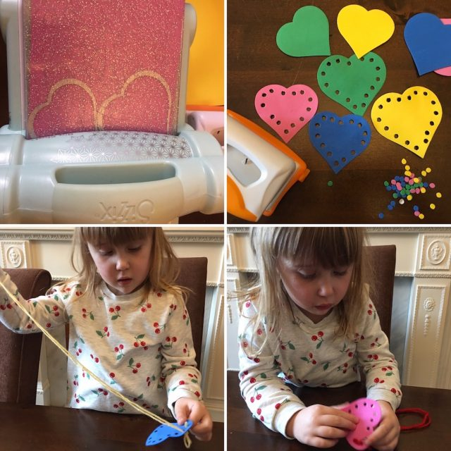 Making and using the sewing cards