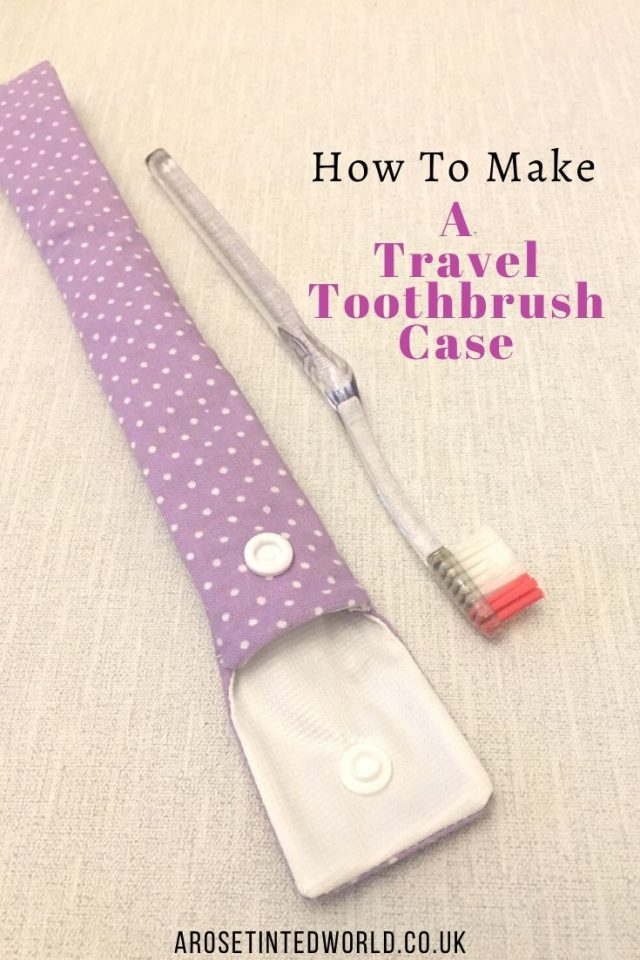 How To Make A Reusable Straw Case - DIY sewing tutorial. Sew your own holder for bamboo, stainless steel, & reusable straws. Doubles as a toothbrush pouch! - full pictorial tutorial - great gift or to sell #sewing #sewingprojects #easysewingprojects #sustainable #zerowaste #reusablestraw #bamboostraw #stainlesssteelstraw #reusablestrawpouch #bamboostrawpouch #reusablestrawcase #bamboostrawcase