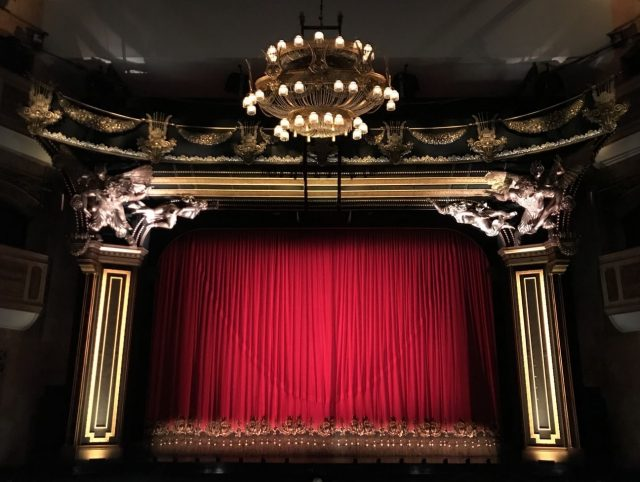 A theatre stage