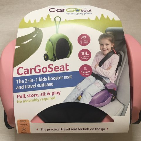 CarGoSeat – A Review And Giveaway!