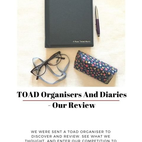 TOAD Organisers And Diaries – Our Review And Giveaway!