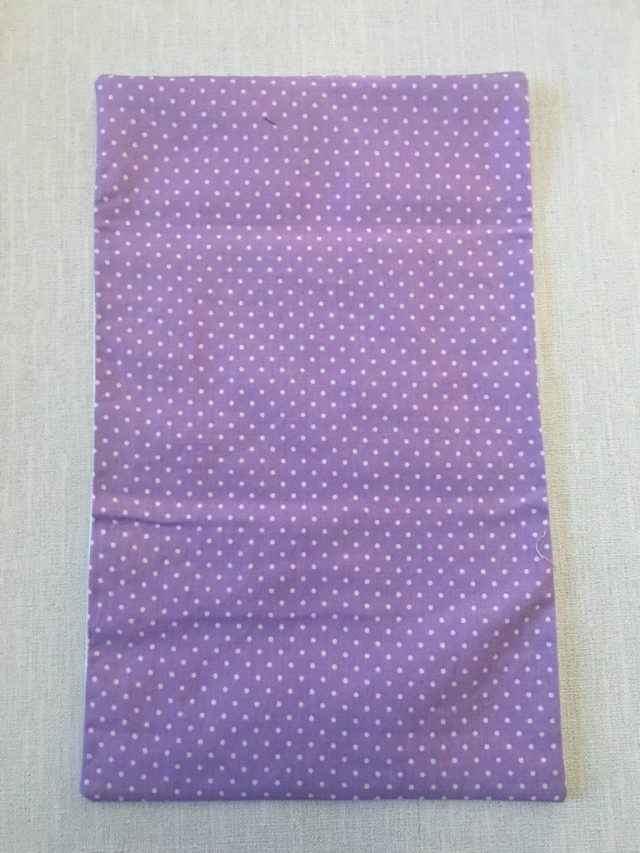 Making a sanitary bag pouch 7