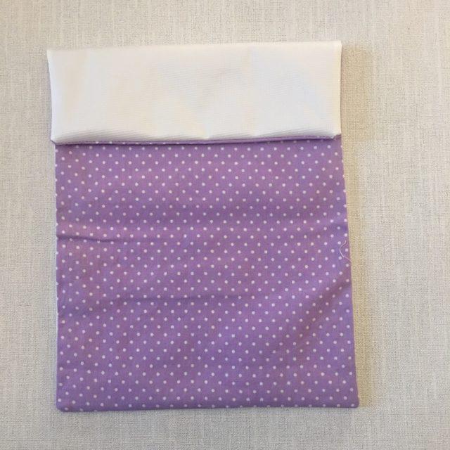 Making a sanitary bag pouch 8