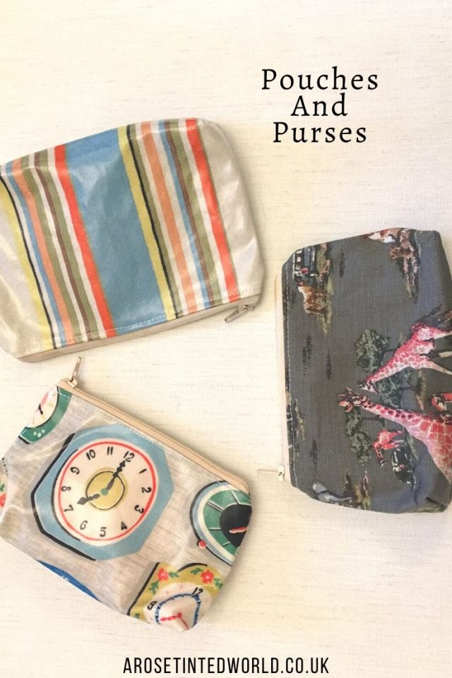 Pouches and purses -Sewing Projects That You Can Sell - make money from what you sew with these ideas for brilliant & sellable DIY items. Links to Full step by step tutorials for each. #sewing #sewingtosell #sewingprojects #sellinghandmade #craftfairs #craftfairideas #sewingcrafts