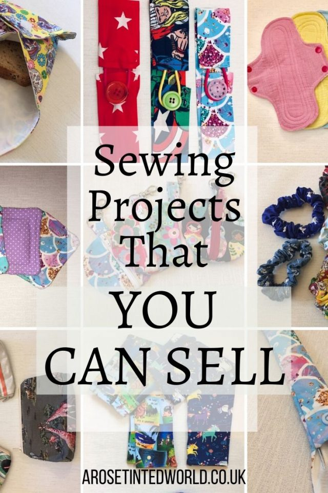 Sewing Projects That You Can Sell - Make Money From Your Sewing Hobby. Earn an income and profit from the things you sew with these ideas for brilliant & sellable DIY items. Sell your handmade items and earn cash. Great for selling on the internet, Etsy or craft fairs. Links to Full step by step tutorials for each. #sewing #sewingtosell #sewingprojects #sellinghandmade #craftfairs #craftfairideas #sewingcrafts