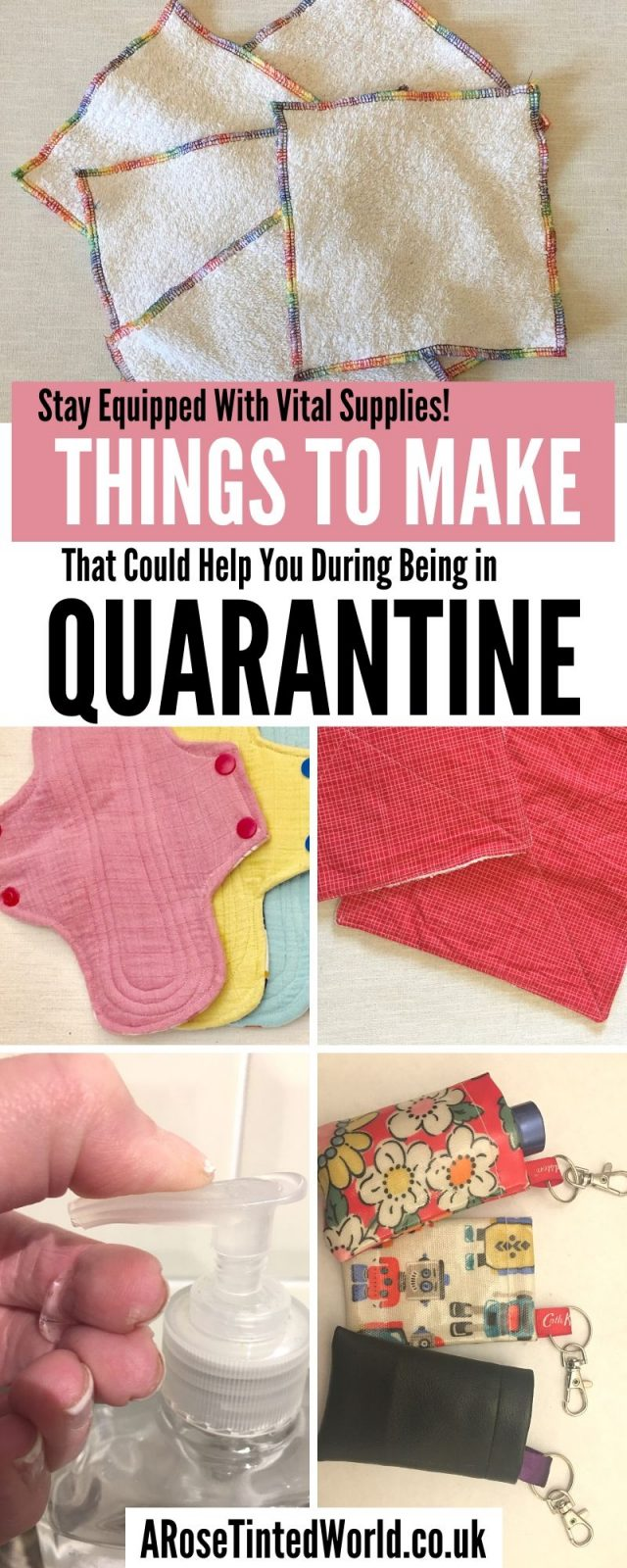 Things To Make At Home That Could HelpYou Whilst Being In Quarantine - follow these simple DIY tutorials & keep equipped with all you need right now. #sewing #DIY #tutorial #makeyourown #quarantine