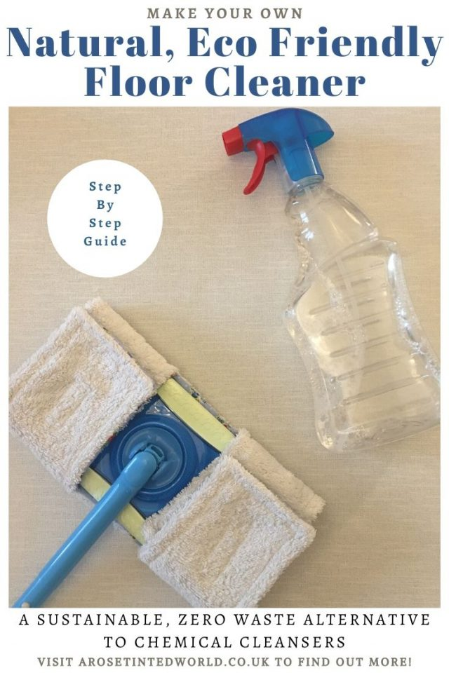 How To Make A Natural Eco Friendly Floor Cleaner - make this chemical free cleaning spray to use on your home floors. DIY a great multi-purpose cleanser. #cleaningtips #cleaninghacks #cleaningtips #cleanhome #cleaningideas #cleaningtipsandtricks #hinch #ecofriendly #whitevinegar