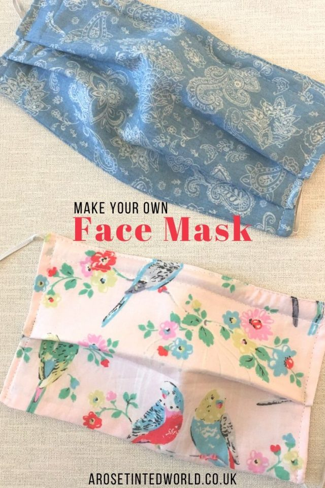 How To Sew A Face Mask (With A Filter Pocket) & wire nose fitting - these cloth face coverings shield your nose & mouth. Adult and child sizes. Full DIY step by step sewing tutorial how to make them. Free sewing DIY pattern #sewing #easysewingprojects #facemaskpattern #facemaskdiy #clothmask #clothfacemask #sewingtutorial #easysewingproject #quarantine