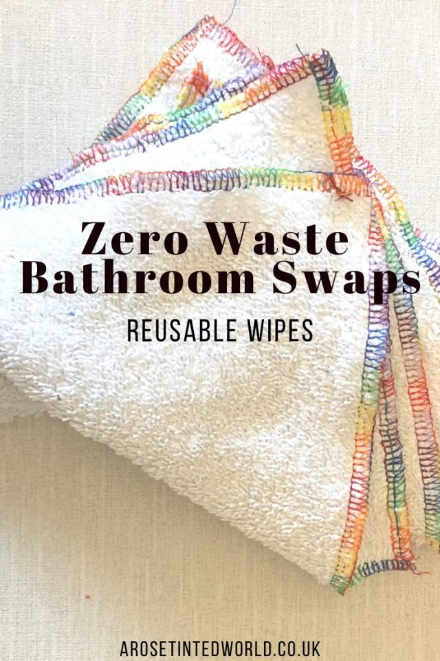 Zero Waste Bathroom Swaps - here are some great ideas for some easy bathroom swaps that you can make on your journey to a more sustainable and ecofriendly lifestyle. #zerowaste #bathroomswaps #zerowasteliving #zerowastelifestyle #zerowastebathroom #ecofriendlybathroom #sustainableliving #sustainability #plasticfree #environmentallyfriendly