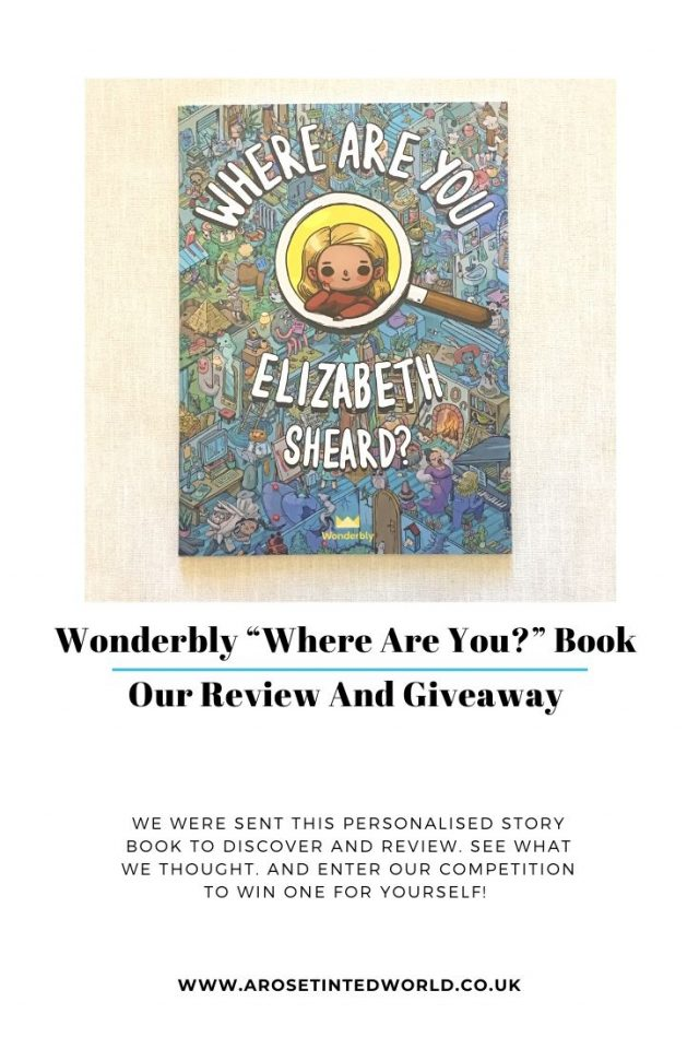 """Wonderbly """"Where Are You?"""" Book - we were sent this search and find book from Wonderbly to read and review. See what we thought, and win one for yourself!"""