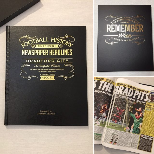 Historic Newspapers Bradford City Book