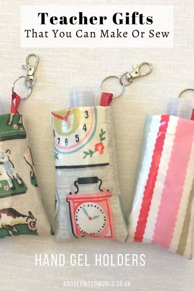 Teacher Gifts That You Can Make Or Sew - some great ideas for hand made gifts to create for a teacher. Money saving presents that you can make at home. Show some love to the special teacher in your life with this gift guide full of brilliant ideas that they will go crazy for. Perfect for Christmas, end of year and end of term. #sewinggifts #sewing #teachergifts #teacherpresents #teachergiftguide #teachergiftideas