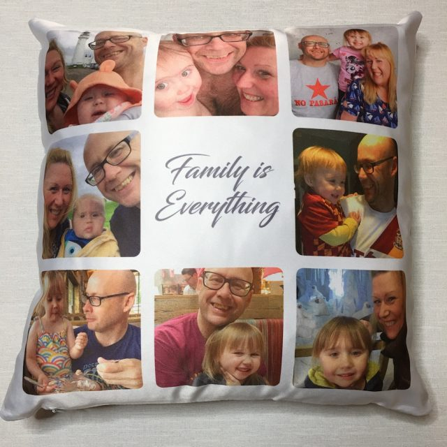Personalised Gifts Market Cushion