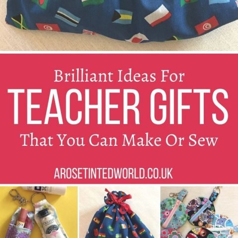 DIY Teacher Gifts For You To Make Or Sew