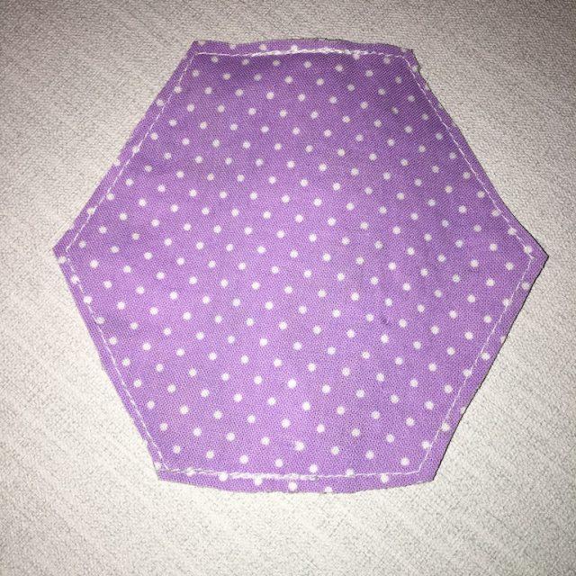 Making Hexagon Pouches 17