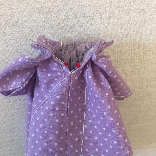 Making the Sindy dress 15