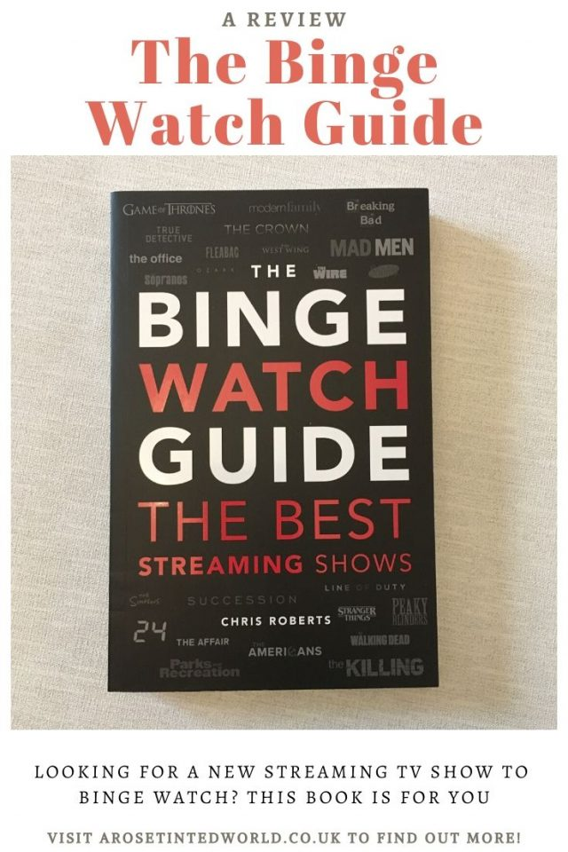 The Binge Watch Guide - Looking for your next show to binge? Then look no further. This new book will help you find your next viewing pleasure. Discover the best streaming shows on the box today. Discover new favourites programmes and rediscover old classics