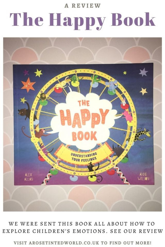 The Happy Book - Small children often have difficulty discussing their emotions. This new book can help your child to discuss their feelings. See our review of this fabulous new children's book - #bookreview #book #emotions #childrensbook