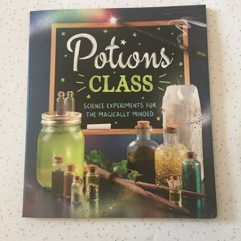 Potions Class – Science Experiments Book – Our Review And Giveaway