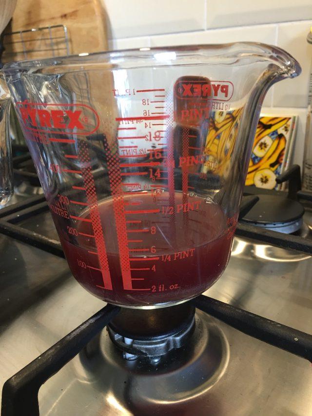 Hawthorn berry juice
