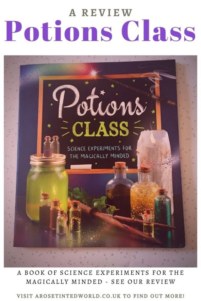 Potions Class - Science Experiments Book. A fan of all things magical & scientific? Want to make some magic concoctions? This book is for you!