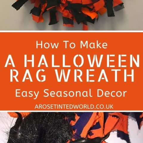 How To Make A Halloween Rag Wreath