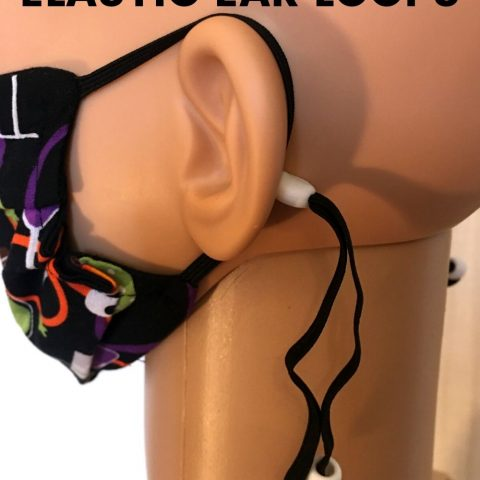 How To Make Adjustable Elastic Ear Loops For Face Masks