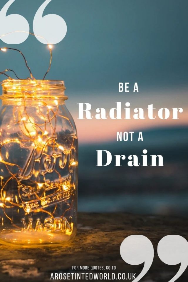 Be Radiator Not A Drain