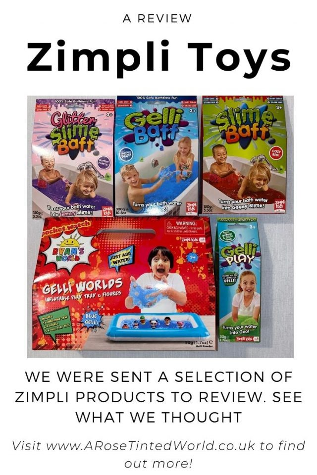 New Zimpli Products - We were sent a large selection of their new toys and old favourites to review and try out. See what we thought.