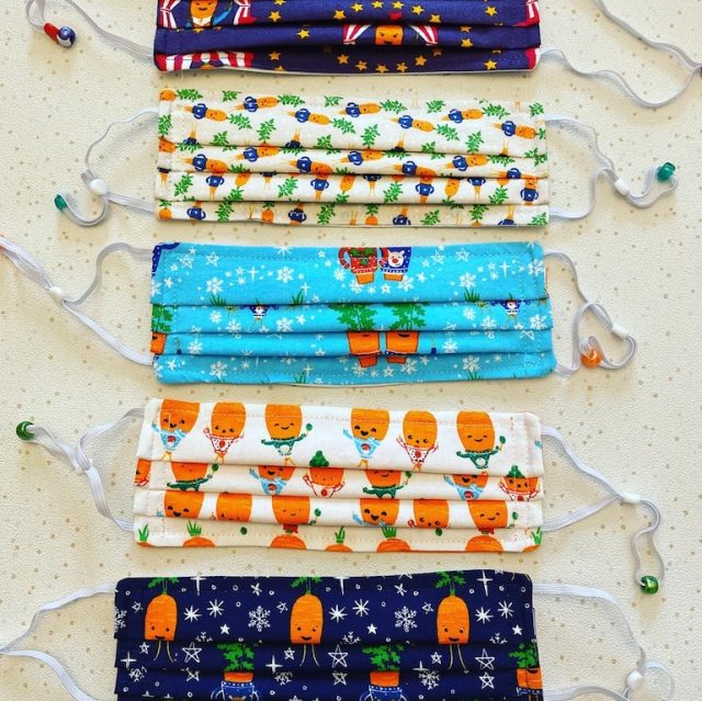 Kevin Carrot Christmas Masks