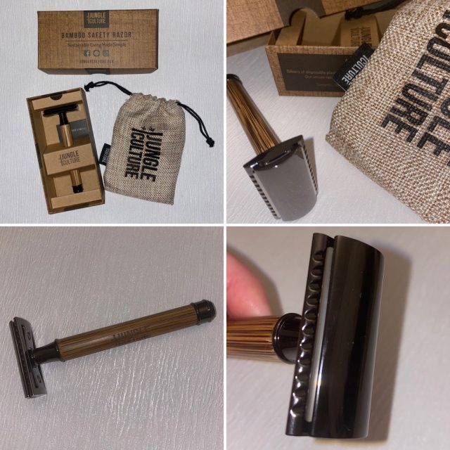 Bamboo Handled safety razor