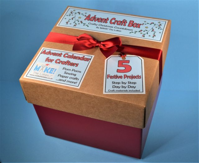 Make The Lakes Advent Calendar Craft Box