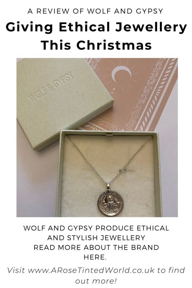 Giving Ethical Jewellery This Christmas - here is a review of Wolf And Gypsy. See what makes them stand out as being more sustainable.
