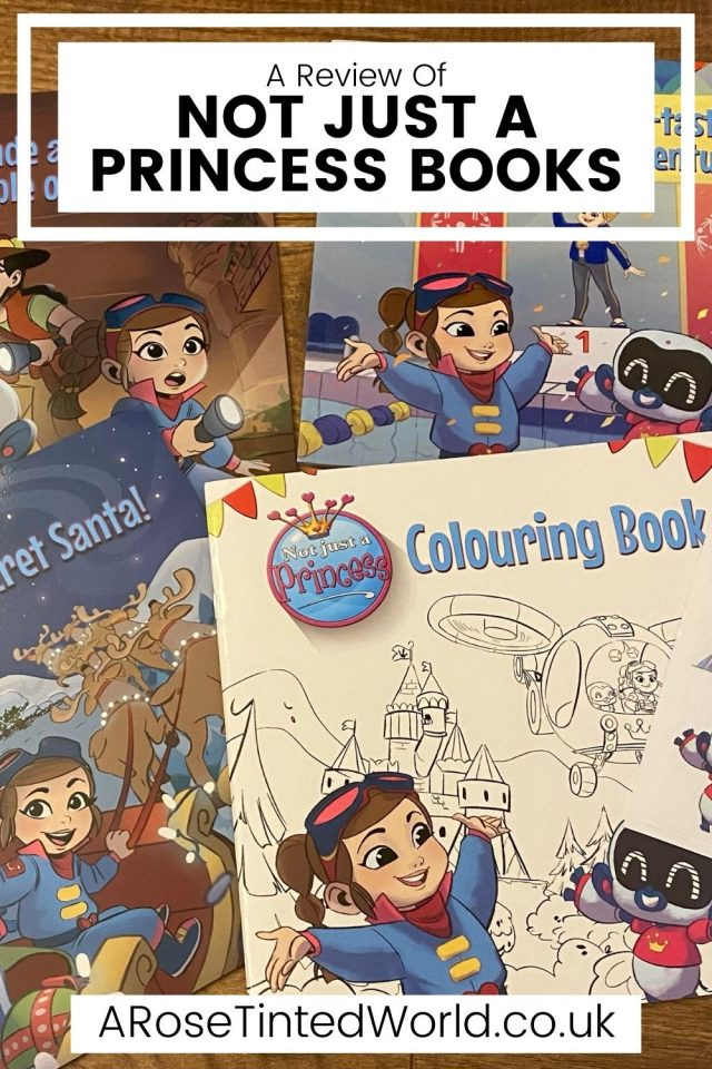 Not Just A Princess Books - these books are all about empowering young people to aim high. See what we thought in our review.