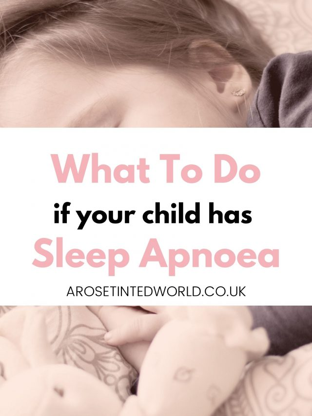 A Child With Sleep Apnoea - what to do if your child has sleep apnoea. What is it? How is it diagnosed? How is it treated? My child was diagnosed with obstructive sleep apnea due to enlarged tonsils and adenoids. How to know if your child will need a tonsillectomy or tonsils and adenoids removed. Here are some tips for managing sleep apnoea in small children and some ideas on how to be diagnosed.