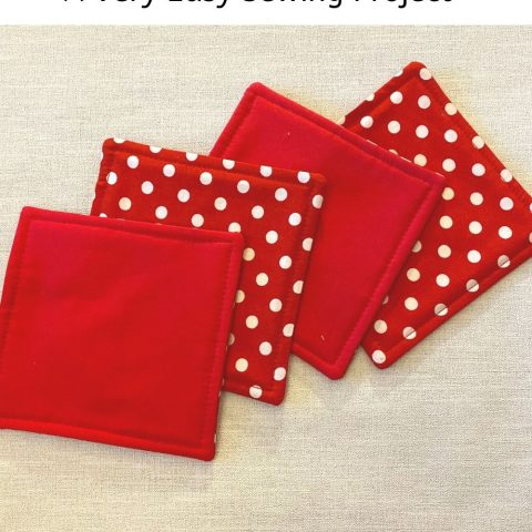 How To Make Easy Fabric Coasters