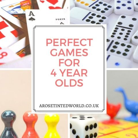 Perfect Games For 4 Year Olds