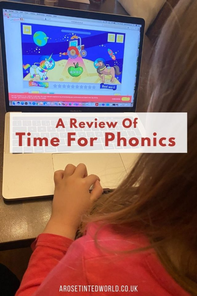 Time for Phonics review - we reviewed a new resource for phonics learning. Here is what we thought. Helpful for phases 2, 3, 4 and 5 phonics.