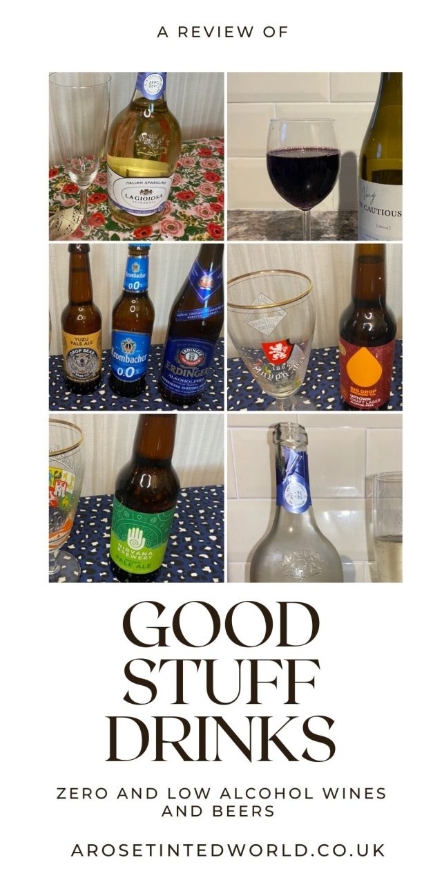 A review of Good Stuff Drinks. Trying to reduce your alcohol intake? Abstaining from booze? Doing Dry January or Stoptober? Get healthy? Really miss a beer or glass of wine? Then try these low and no alcohol beverages from Good Stuff drinks. They have curated a host of low calorie, post workout and low alcohol wines and beers that have all the great taste but without the unhealthy alcohol. Improve your health and quit ofr cut down drinking today.