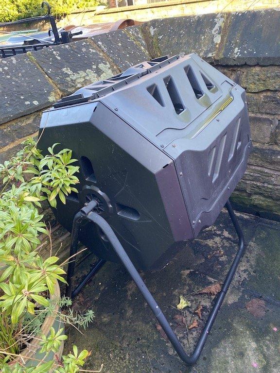 Tumbling Rotating Drum Compost Bin