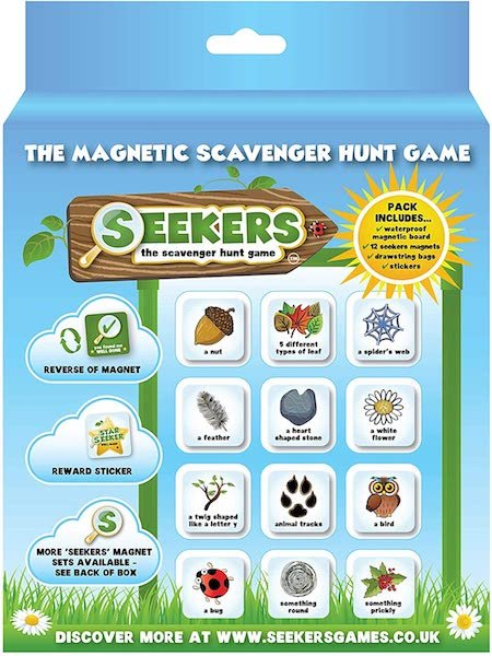 SEEKERS_Scavenger Hunt Game Starter Kit With Magnetic Board