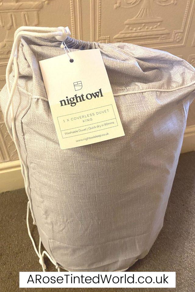 Duffle Bag for the Night Owl Duvet