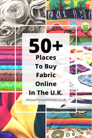 Where To Buy Fabric Online In The UK