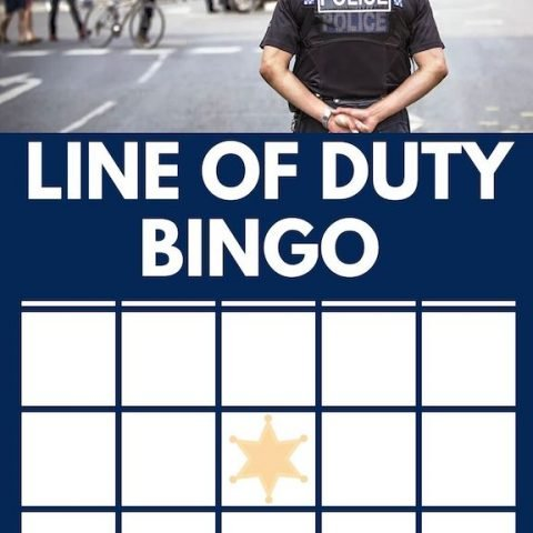 Line Of Duty Bingo