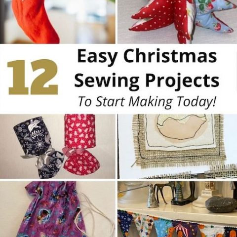Easy Christmas Sewing Projects To Start Making Today