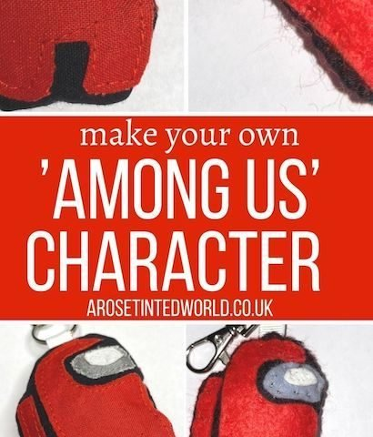 How To Make An Among Us Character Keyring Or Decoration